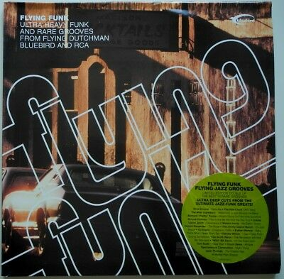 2 x LP EU**VARIOUS - FLYING FUNK FLYING JAZZ GROOVES (BLUEBIRD '03)**27998
