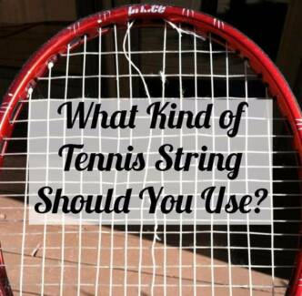 Need New Strings? Tennis Squash Racket Restringing Riverhills