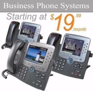 Hosted Business PBX Phone System (FREE CISCO PHONES!) - Provided by Orange PBX