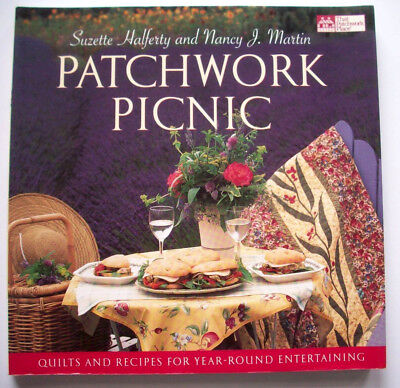 Patchwork Picnic quilt patterns recipes sailboats flowers stars & stripes