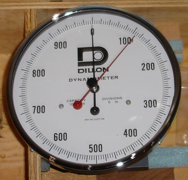 Dillon Dynamometer Cap. 1000 8051MO