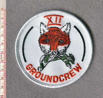 ROYAL AIR FORCE 12 SQUADRON BUCCANEER GROUNDCREW PATCH