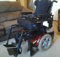 Electric Power Wheelchair Invacare Pronto M91 Sure Step