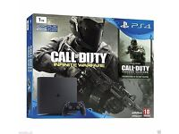 Sony PlayStation 4 PS4 Slim 1TB Call of Duty Infinite War Legacy Edition Bundle Brand New Unopened