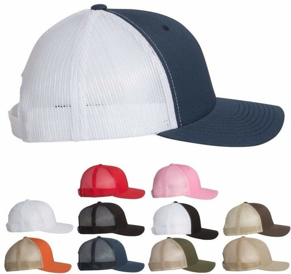 Yupoong Retro Trucker Hat   2-Tone Snapback Baseball Cap by Flexfit ... 58f2c951017