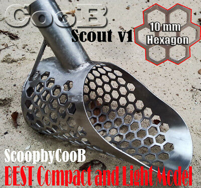*Scout V1* by COOB Small Stainless Steel  Sand Scoop Metal Detector Hunting Tool