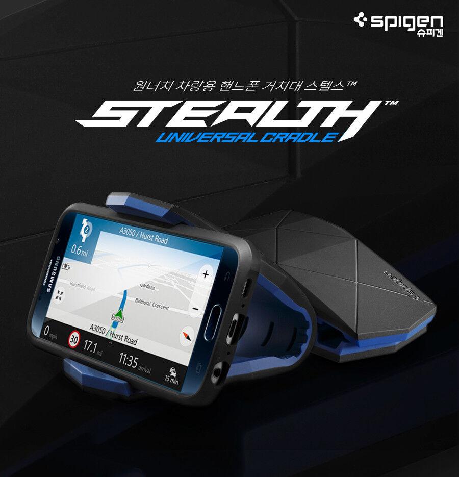 Spigen Kuel S40 Stealth Cradle Gel Dashboard Car Mount Holde