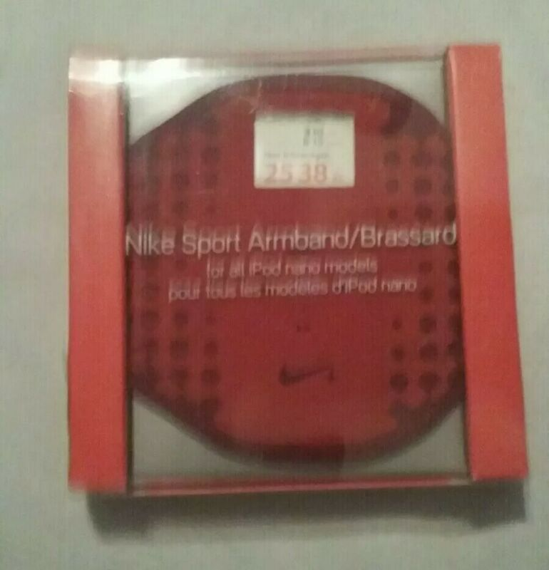New NIKE SPORT ARMBAND/BRASSARD For All iPod Nani Models Red
