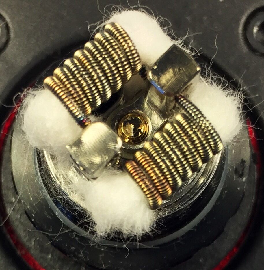 4 SS FUSED CLAPTON COILS (CLAPTON,PREMADE,FUSED,316L, RTA,RBA) FREE SHIPPING