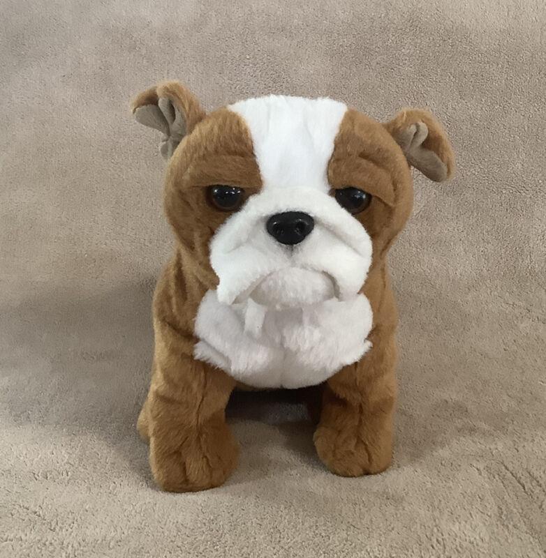 "Toys R US Plush English Bulldog 9"" 2016 - Stuffed Animal Animal Alley"
