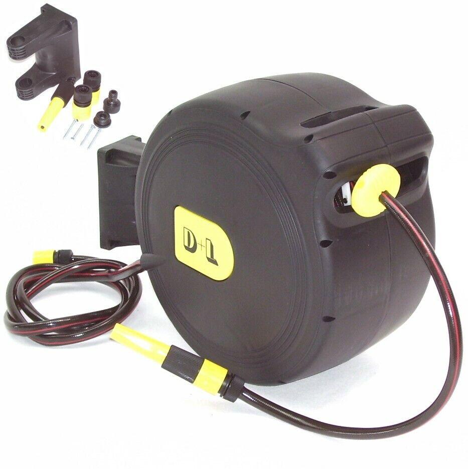 30 m Automatischer Schlauchaufroller Wasserschlauch Schlauchtrommel Automatik