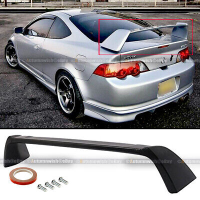 Fit 02-06 Acura RSX DC5 Matte Black Unpainted JDM TR Type-R Rear Trunk Spoiler