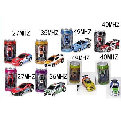 Coke Can Mini Speed RC Radio Remote Control Micro Racing Car Toy Gift New XH