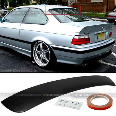 Fit 92-98 BMW 3 Series E36 2DR Unpaited Rear Window Roof Wing Spoiler Visor Bmw 3 Series Rear Spoiler