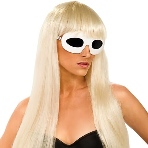 Straight Blonde Wig Hair Adult Costume Party Halloween Outfit Accessory One Size