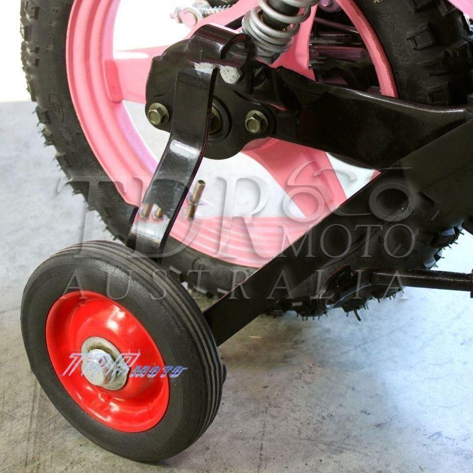 AU STOCK Yamaha Pw50 Peewee50 Training Wheels Rear Mounted