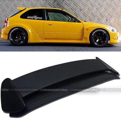 For 96-00 Civic Hatchback EK Type-R Style Unpainted ABS Roof Wing Spoiler