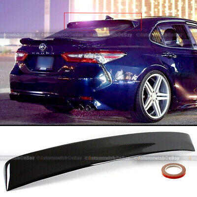 For 18 19 20 Toyota Camry Glossy Black JDM Sport Rear Window Roof Wing Spoiler