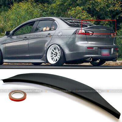 FOR 2015-2019 FORD MUSTANG COUPE MM-DUCKBILL V-SERIES STYLE UN-PAINTED SPOILER