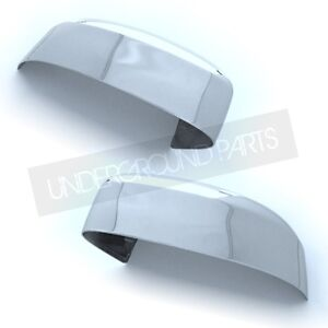 FORD FOCUS MK2 / MONDEO MK4 CHROME DOOR WING MIRROR COVERS CAPS CUPS LEFT RIGHT