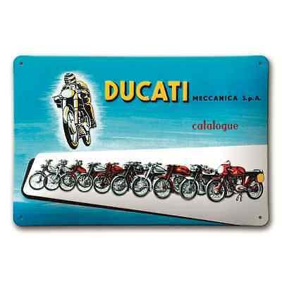 *SONDERPREIS* ORIGINAL Ducati Meccanica Metallschild / Schild