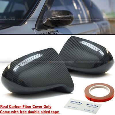 Fit Honda 92-95 Civic 2/3DR 100% Rear Carbon Fiber Spoon Style Side View Mirror  Civic 3dr Carbon Fiber Spoon