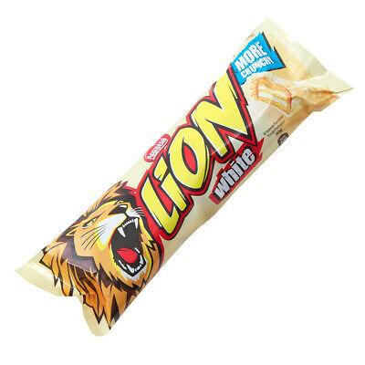 Nestle White Lion Bar 40 x 40g Bars Best Before End August 2020