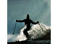 """Vintage Sticker White Stag Skiing 1960/'s 1970/""""s    $5.99 each sticker"""