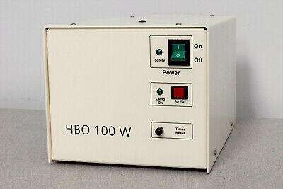 Zeiss Attoarc 2 Hbo 100 W Microscope Light Source Power Supply Warranty