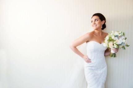Elegant modest wedding dress $350 | Wedding | Gumtree Australia ...