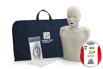 Prestan Cpr Light Skin Manikin Wmonitor American Red Cross Cpraed Trainer