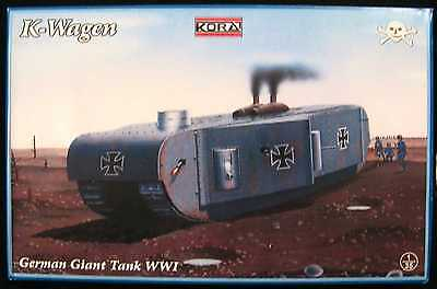 KORA Models 1/35 German K-WAGEN WORLD WAR I GIANT TANK