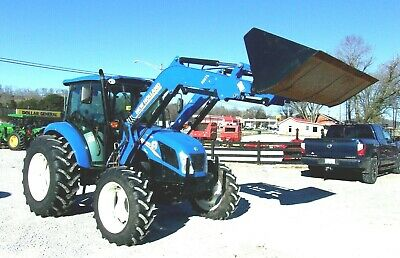 2015 New Holland T.4.65 Tractor Cab 4x4 Loader-free 1000 Mile Delivery From Ky
