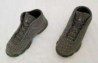 Youth Size 3Y Grey Nike Air Jordan Horizon Basketball Shoes 823584-003 preowned