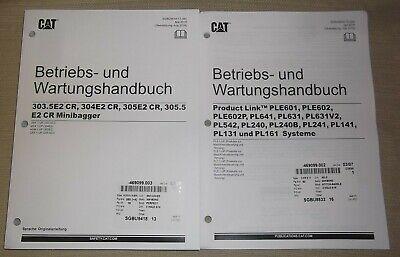 Cat Caterpillar 303.5e2 304e2 305e2 305.5e2 Cr Operation Maintenance Manual