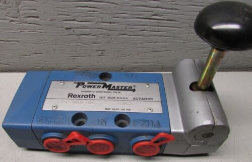 Rexroth PT-34101-300 Power Master Pneumatic Directional Valve