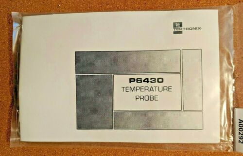 Tektronix TEMPERATURE PROBE P6430, NEW Old Stock, SEALED in ORIGINAL Package