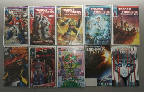 Transformers LOT of 18 Regeneration One 80.5-84 #1 Armada Preview Botcon