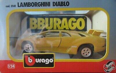 Yellow Lamborghini Diablo cod. 0141 Bburago 1:24 Die Cast