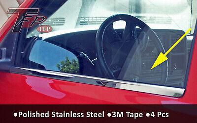 2000-2006 Chevrolet Silverado Stainless Steel Window Sill Crew Cab