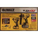 Dewalt DCK299D1T1 20V Flexvolt Brushless Hammer Drill Impact Driver Kit - NEW !!