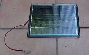12V 4.5W waterproof solar panel in protective case with molex Alderley Brisbane North West Preview