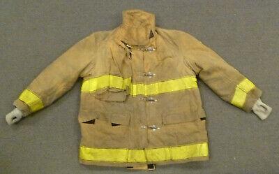 48x30 Globe Tan Firefighter Jacket Coat Bunker Turn Out Gear J740