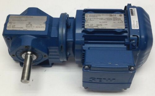 Sew-Eurodrive Inc SA37DRS71S4 Electric Motor Gear Reducer 60Hz 3PH .50HP 1800RPM