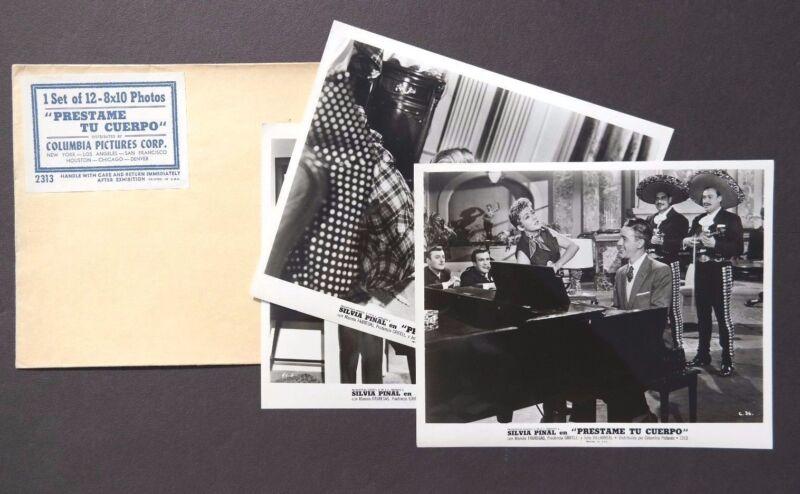 Vtg 1958 Prestame Tu Cuer Movie Press Kit Photos (Prestame Tu Cuerpo)