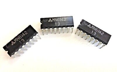 Mn6142 Pll Amfm Freq Ic 16-pin Mitsubishi