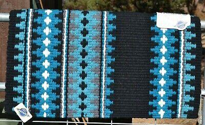38x34 Black//Charcoal//Ash//Cream by Mayatex The New Pueblo Show Blanket