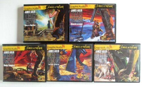 Graphic Audio James Axler Deathlands Lot of 5 Audio CD