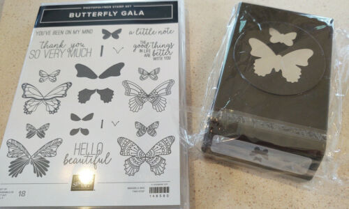 Stampin Up Bundle - Butterfly Gala, Butterfly Duet Punch - NEW