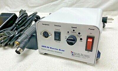 Henry Schein Zahn Hdz-35 Electraglide Dental Laboratory Handpiece Power Supply